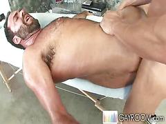 Anally taken after massage