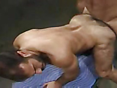 Haired guy cocksucking and anal