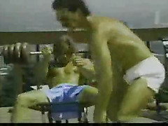 Vintage with no condoms gay sex outdoors