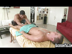 Hot guy masturbation and rubdown