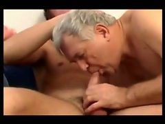 Grandpa fucked by a twink