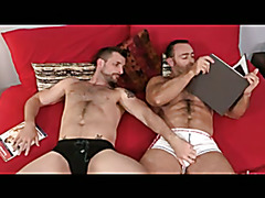 Hairy Beefy Daddies: Pull Those Tits Man