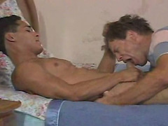 Grandpa blows Cuban cutie