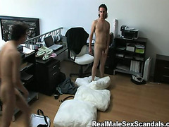 Voyeur camera gay oral vid