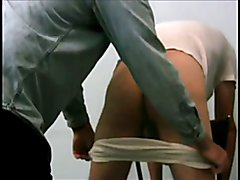 Discipline: Pants Down For Caning Punishment