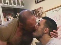 Hunky bears crave anal sex