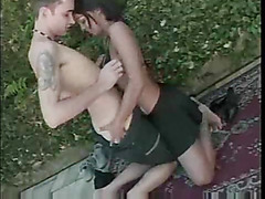 Hot bi scene with strapon