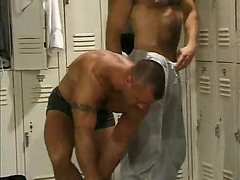Haired hotties locker room fuck