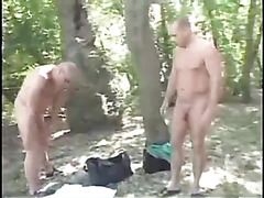 Anal without condoms by the lake