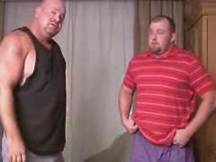Big men suck and stroke