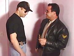 Brian Holiday Uniform Cop Sex