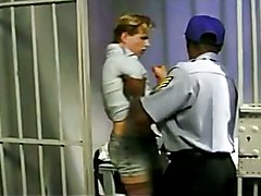 Interracial jail triple  scene 2