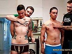 FTM Frat Hazing with Kipp Slinger and Christian Wilde