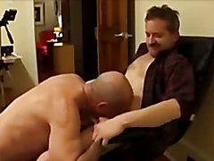 Dad Seduces Straight Friend