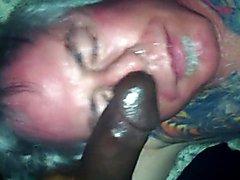 Teens Blow Huge Ebony Cocks Too! 9