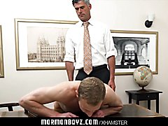 Mormonboyz - Hung jock inspected and hammered