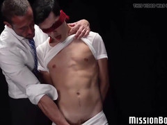 Alluring Boy Shags Doggystyle With Muscled Mormon Elder