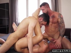 Rocco Steele And Esteban Tag Teaming Without Condoms Bottom Aymeric...