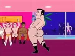Funny Excited Cartoon  Scene 3