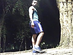 Walking nights at the park