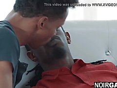 Darky step brother caught watching gay porn