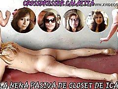 Luisa, la nena cross dresser de closet de ica, calatita...