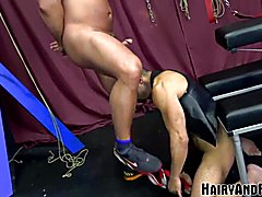 Hairyandraw mature sub amir badri fucked by muscled pappy
