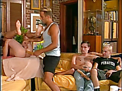 Big gay orgy that sizzles