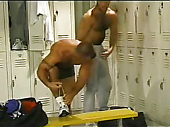 Sporty haired guys hardcore sex