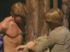 Outdoor gay sex in California
