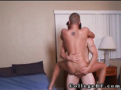 Good ride on college penis