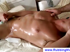 Oiled up gay massage
