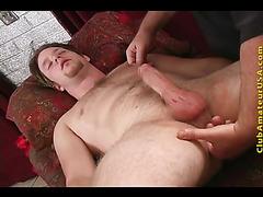 Masturbation and backside fingering