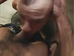 Bareback anal sex in the basement