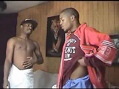 Hot young black guys fuck