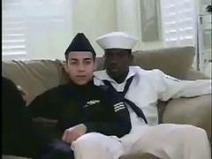 Interracial sex with sailors