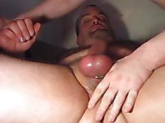Amateur rides hard bareback cock