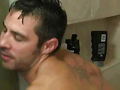 Hunk suck and fuck in shower