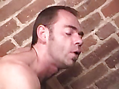 Manly fuck in the locker room