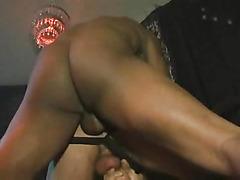 Thick black cock bangs him