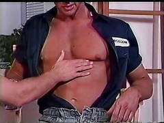 Vintage hunk sex is hot